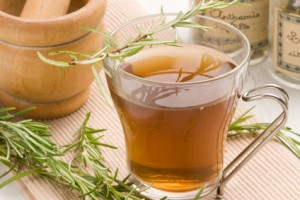 Herbal tea. Rosemary.