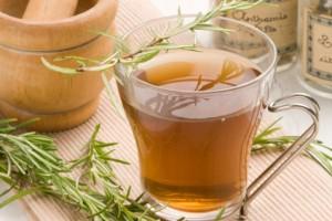 Herbal tea. Rosemary.